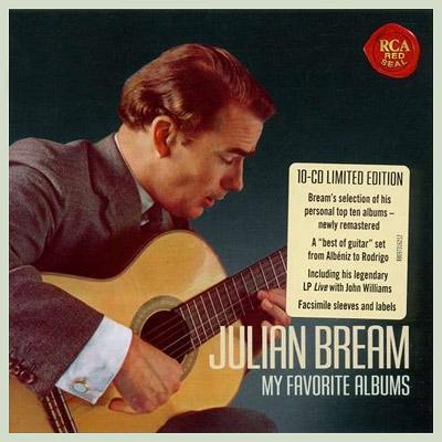 ジュリアン・ブリーム オリジナル・ジャケット・コレクション(10CD)