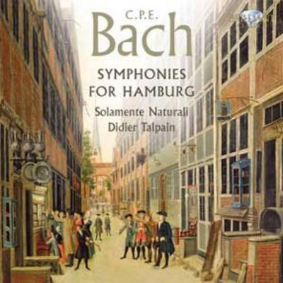 ハンブルク交響曲集、チェンバロ協奏曲 タルパイン&ソラメンテ・ナトゥラリ、トポロウスキ