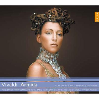 『エジプトの戦場のアルミーダ』全曲 アレッサンドリーニ&コンチェルト・イタリアーノ、ミンガルド、ザナージ、他(2009 ステレオ)(3CD)