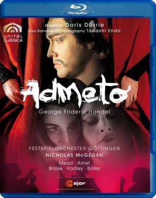 『アドメート』全曲 デーリエ演出、マッギガン&ゲッティンゲン祝祭管、ミード、アーネット、他(2009 ステレオ)
