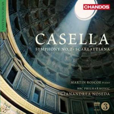 交響曲第2番、スカルラッティアーナ ノセダ&BBCフィル、ロスコー