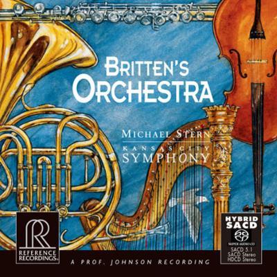 青少年のための管弦楽入門、シンフォニア・ダ・レクィエム、4つの海の間奏曲とパッサカリア M.スターン&カンザスシティ響