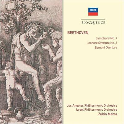 交響曲第7番、『エグモント』序曲、『レオノーレ』序曲第3番 メータ&ロサンジェルス・フィル、イスラエル・フィル