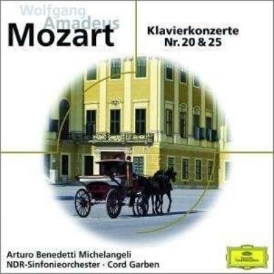 ピアノ協奏曲第20番、第25番 ミケランジェリ、ガーベン&北ドイツ放送響