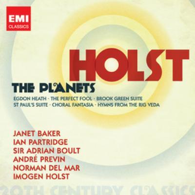 『惑星』、ブルック・グリーン組曲、サマセット狂詩曲、他 ボールト&ロンドン・フィル、デル・マー&ボーンマス・シンフォニエッタ、他(2CD)