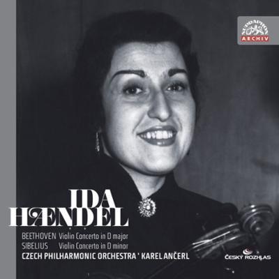 ベートーヴェン:ヴァイオリン協奏曲、シベリウス:ヴァイオリン協奏曲 イダ・ヘンデル、アンチェル&チェコ・フィル(1957年ライヴ)