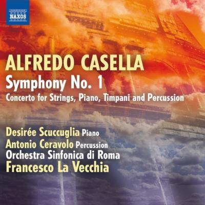交響曲第1番、ピアノ、ティンパニ、パーカッションと弦楽のための協奏曲 ラ・ヴェッキア&ローマ交響楽団、スクックリア、チェラヴォーロ