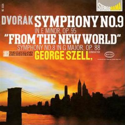 交響曲第8番、第9番『新世界より』 セル&クリーヴランド管弦楽団