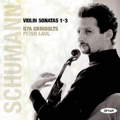 ヴァイオリン・ソナタ第1番、第2番、第3番 グリンゴルツ、ラウル