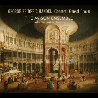 合奏協奏曲集作品6全曲 パヴロ・ベズノシウク&エイヴィソン・アンサンブル(3SACD)