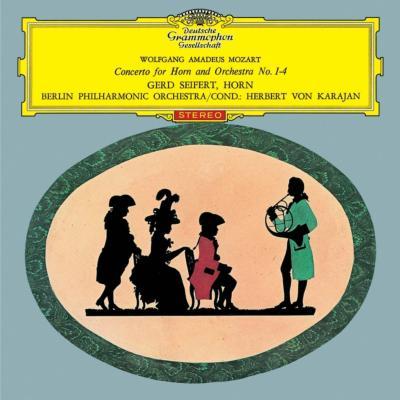 ホルン協奏曲第1番〜第4番 ザイフェルト、カラヤン&ベルリン・フィル