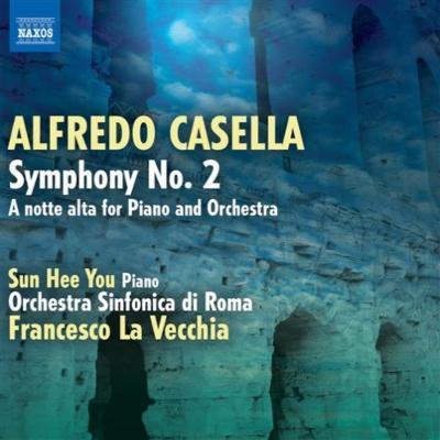 交響曲第2番、ピアノとオーケストラのための『深夜に』 ラ・ヴェッキア&ローマ交響楽団、ユ・ソンヒ