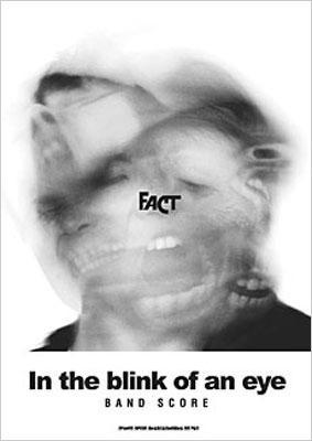バンドスコア fact in the blink of an eye with cd fact hmv books