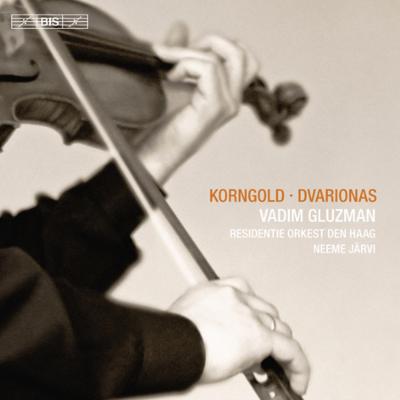 コルンゴルト:ヴァイオリン協奏曲、ドヴァリョーナス:ヴァイオリン協奏曲 グルズマン、ヤルヴィ&ハーグ・レジデンティ管