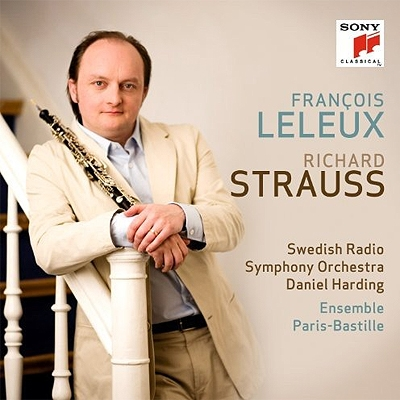 オーボエ協奏曲、組曲 ルルー、ハーディング&スウェーデン放送響、アンサンブル・パリ=バスティーユ