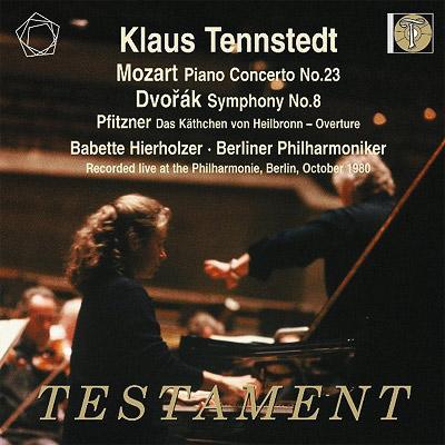 ドヴォルザーク:交響曲第8番、モーツァルト:ピアノ協奏曲第23番、他 テンシュテット&ベルリン・フィル、ヒーアホルツァー(1980)