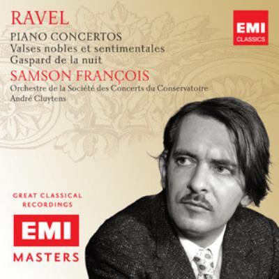 ピアノ協奏曲、左手のためのピアノ協奏曲、夜のガスパール、他 フランソワ、クリュイタンス&パリ音楽院管