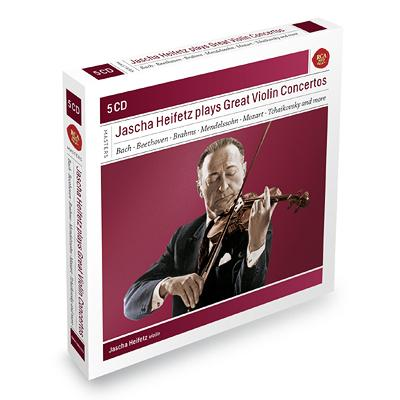 ハイフェッツ/ヴァイオリン協奏曲集(6CD)