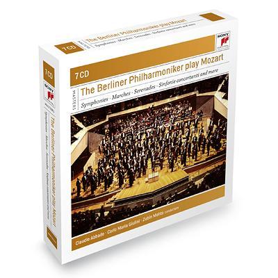 交響曲集、管弦楽曲集、協奏交響曲集 アバド、ジュリーニ、メータ&ベルリン・フィル(7CD)