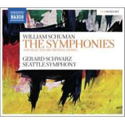 交響曲第3、4、5、6、7、8、9、10番、管弦楽曲集 シュウォーツ&シアトル響(5CD)