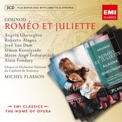 『ロメオとジュリエット』全曲 プラッソン&トゥールーズ・キャピトール管、アラーニャ、ゲオルギュー、他(1995 ステレオ)(3CD)