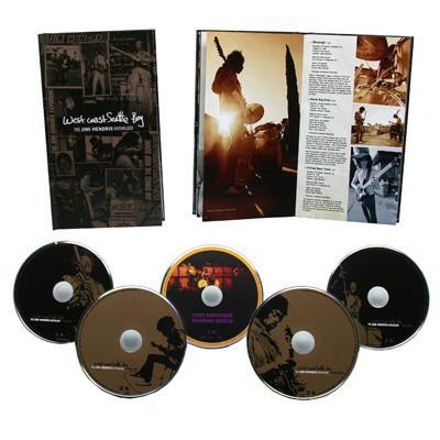 West Coast Seattle Boy: The Jimi Hendrix Anthology (4CD+DVD)