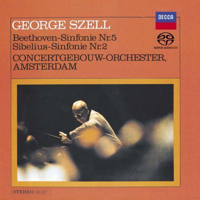 シベリウス:交響曲第2番、ベートーヴェン:交響曲第5番 セル&コンセルトヘボウ管弦楽団(シングルレイヤー)(限定盤)