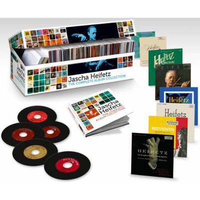 ハイフェッツ・オリジナル・ジャケット・コレクション全集(103CD+1DVD限定盤)