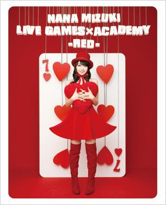 NANA MIZUKI LIVE GAMES×ACADEMY[RED] (Blu-ray)