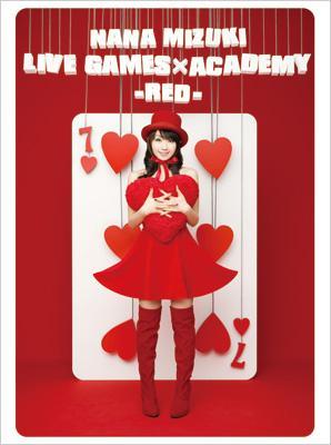 NANA MIZUKI LIVE GAMES×ACADEMY【RED】