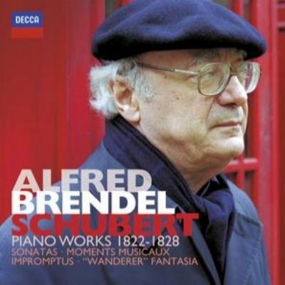 ピアノ・ソナタ第14〜21番、『さすらい人』幻想曲、即興曲集、他 ブレンデル(80年代)(7CD)