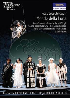 『月の世界』全曲 メデッティ演出、カメルリンゴ&マデルナ音楽院管、トリアーニ、ヴィルジーリ、他(2009 ステレオ)