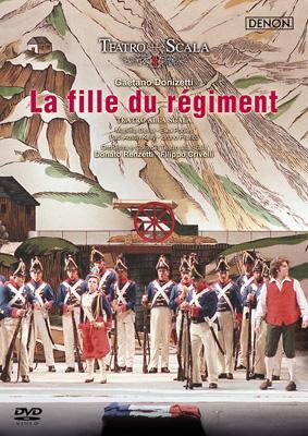 『連隊の娘』全曲 クリヴェッリ演出、レンツェッティ&スカラ座、デヴィーア、プラティコ、他(1996 ステレオ)
