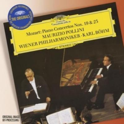 ピアノ協奏曲第19番、第23番 ポリーニ、ベーム&ウィーン・フィル