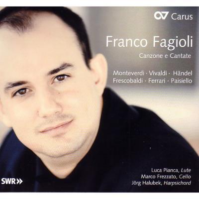 Franco Fagioli(Ct)Canzone E Cantate