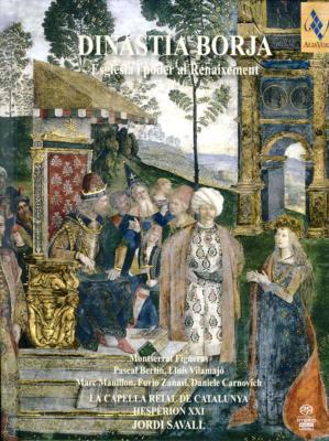 『ボルジア(ボルハ)一族〜ルネサンス期の教会と権力』 サヴァール&エスペリオンXXI(3SACD)