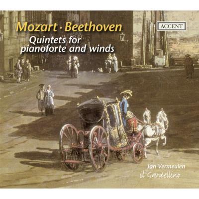モーツァルト:ピアノと管楽器のための五重奏曲、ベートーヴェン:ピアノと管楽器のための五重奏曲 フェルミューレン(フォルテピアノ)、イル・ガルデリーノ