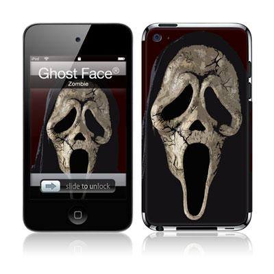 Musicskins / Ghost Face -Zombie(Ipod Touch4g用)