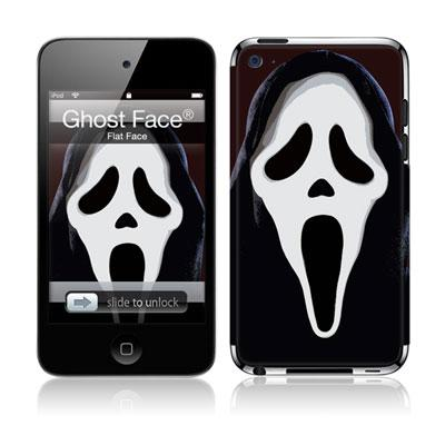 Musicskins / Ghost Face -Flat Face(Ipod Touch4g用)