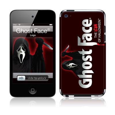 Musicskins / Ghost Face -Logo(Ipod Touch4g用)