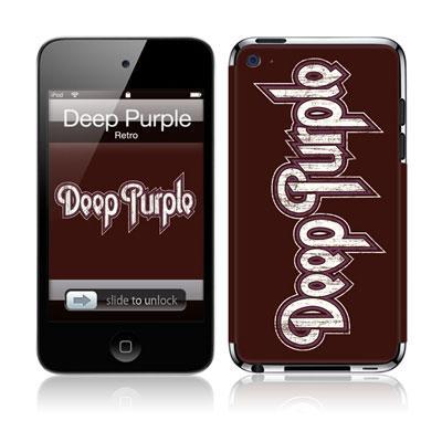 Musicskins / Deep Purple -Retro(Ipod Touch4g用)
