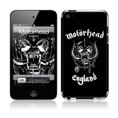 Musicskins / Motorhead -England(Ipod Touch4g用)