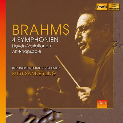 交響曲全集 ザンデルリング&ベルリン交響楽団(4CD)