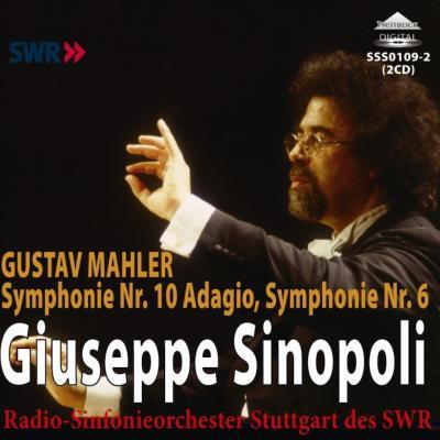 交響曲第6番『悲劇的』、第10番〜アダージョ シノーポリ&シュトゥットガルト放送響(1985、1981ライヴ)(2CD)