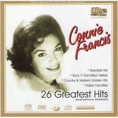26 Greatest Hits 4サイド オブ コニー フランシス〜スーパー オーディオ ベスト