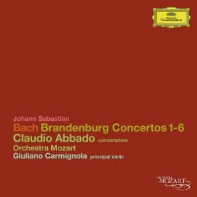 ブランデンブルク協奏曲全曲 クラウディオ・アバド&モーツァルト管弦楽団(2CD)