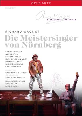 『ニュルンベルクのマイスタージンガー』全曲 K.ワーグナー演出、ヴァイグレ&バイロイト、ハヴラタ、フォレ、他(2008 ステレオ)(2DVD)