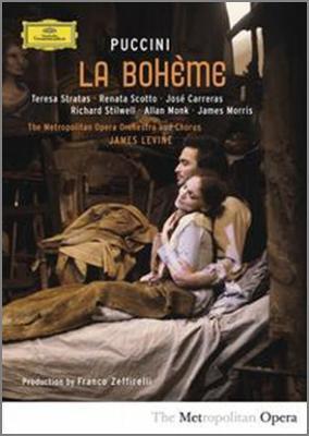 『ボエーム』全曲 ゼッフィレッリ演出、レヴァイン&メトロポリタン歌劇場、ストラータス、カレーラス、他(1982 ステレオ)