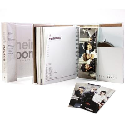 JYJ -Music Essay THEIR ROOMS (+CD)(韓国語書籍)