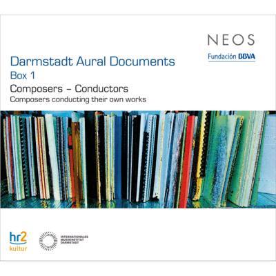 ダルムシュタット・ドキュメント・ボックス1 作曲家=指揮者 自作自演集(6CD)